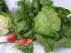 Eisbergsalat gartenfrisch mit Umblatt Stück = Fr. 2.80