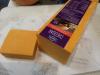 Cheddar Cheese 100g = Fr. 1.80