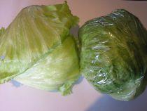 Eisbergsalat frisch, gross, chrachig  Ein herrlicher
