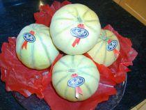 Zuckermelonen Charantais Stück à ca 850 Gramm