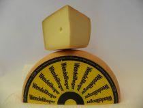 Wendelihoger : rezent, reif, mit Geschmack. Käserei Sepp Brülisauer Dieser Käse wird in unserem Gebiet aus Vollmich hergestellt.